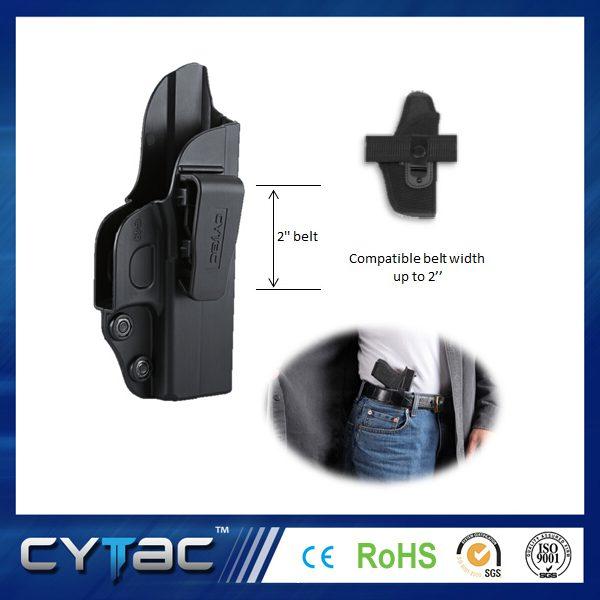 Pištoľové opaskové púzdro Cytac na skryté nosenie pre Glock 42 1