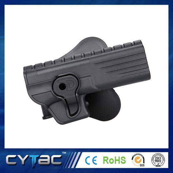 Pištoľové púzdro Cytac pre Glock 34 s pádlom + opasková redukcia + molle redukcia 1